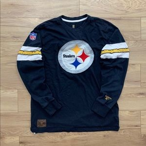 ▪️Official Steelers Embroidered logo Longsleeve(L)